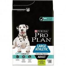 Корм ProPlan Adult Large Breed Athletic Lamb для собак крупных пород атлетически сложенных с чувствительным пищеварением, ягненок