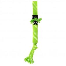 Игрушка Scrubz Rope Tug Toy веревочная шуршащая, лайм, L