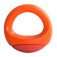 Игрушка Rogz Pop-Upz Orange M/L для собак кольцо-неваляшка, оранжевый