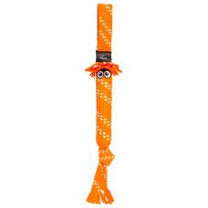 Игрушка Scrubz Rope Tug Toy веревочная шуршащая, оранжевый, M