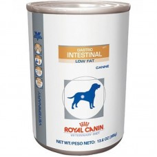 Royal Canin (вет. консервы) консервы для собак с ограниченным содержанием жиров при нарушениях пищеварения, Gastro Intestinal Low Fat Canine, 410 гр