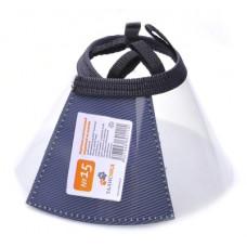 Воротник Талисмед защитный, пластиковый на липучке, №15, 31-38 см