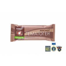 Лакомство TiTBiT, гематоген мясной Vitamin, 35 г