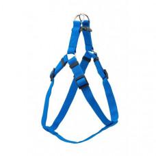 Шлейка Yami-Yami Сити XXS, синяя, 10 мм, ОШ 30-35 см, ОГ 37-42 см