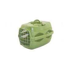 Переноска Yami-Yami Спутник-2 для животных, оливковая, 33х49х32 см