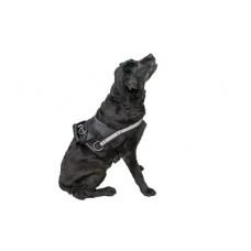 "Шлейка Yami-Yami ""Kombo"" для служебных собак (тяговая), чёрная"