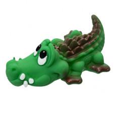 """Игрушка Yami-Yami """"Крокодильчик"""" для собак, зеленый, 13.5 см"""