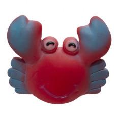 """Игрушки Yami-Yami """"Добрый краб"""" для собак, красный, 9×11 см"""