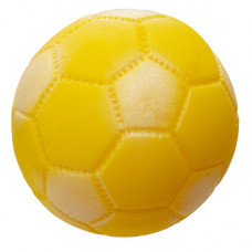 "Игрушки Yami-Yami ""Мяч Футбол"" для собак, желтый, Ø 72 мм"