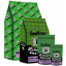 Корм ZooRing Mini Lamb&Rice для взрослых собак всех пород, ягнёнок/рис