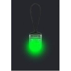 Cветовой трекер-подвеска на ошейник iTrek, зелёный