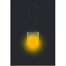 Cветовой трекер-подвеска на ошейник iTrek, жёлтый