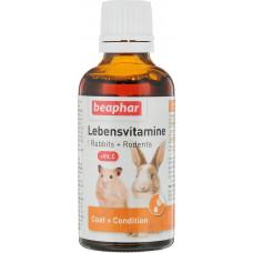 Витамины Beaphar Lebensvitamine для грызунов, 50 г