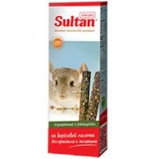 Зерновые палочки Султан для шиншилл, травяные с овощами, 2 шт