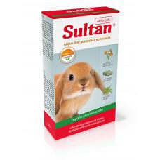Корм Султан для молодых кроликов, трапеза с овощами, 400 г