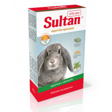 Корм Султан для кроликов, трапеза с овощами, 900 г