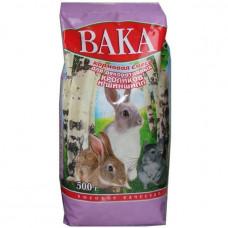 Корм Вака ВК для шиншил и декоративных кроликов, 500 г