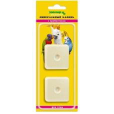 Минеральный камень Зоомир для птиц с пробиотиком, 2 шт по 25 г