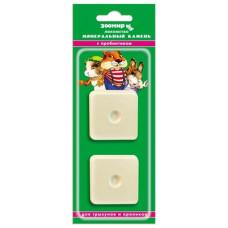 Минеральный камень Зоомир для грызунов с пробиотиком, 2 шт по 25 г