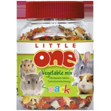 Little One Vegetable mix Лакомство для грызунов, овощная смесь, 150 гр