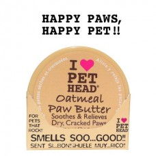 Масло Pet Head Oatmeal Natural Paw Butter для потрескавшихся лап с маслами ши, овсянки, жожоба, кокоса, оливок и алоэ вера, 50 мл