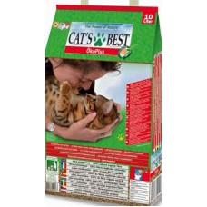 Cat's Best Комкующийся древесный наполнитель для кошек, Eko Plus, 10 л, 4.3 кг