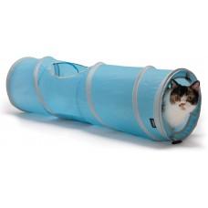 "Тоннель-шуршалка Kitty City для кошек ""Космос"", 28х28х91 см"