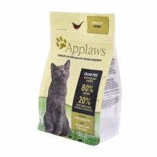 """Корм Applaws беззерновой для пожилых кошек """"Курица/Овощи: 80/20%"""", Dry Cat Senior, 7.5 кг"""