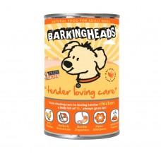 """Barking Heads консервы для собак с чувствительным пищеварением с курицей """"Нежная забота"""", Tender loving Care, 400 гр"""