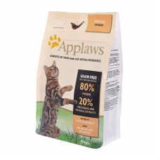 "Корм Applaws беззерновой для кошек ""Курица/Овощи: 80/20%"", Dry Cat Chicken, 7.5 кг"