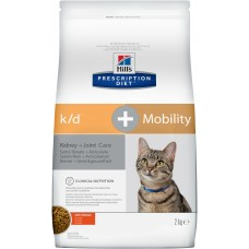 Hill's Prescription Diet Feline k/d + Mobility лечение почек+суставов