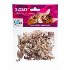 TiTBiT Легкое говяжье для кошек, мягкая упаковка, 8 г
