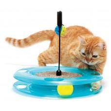 Игрушка Kitty City Swat Track & Scratcher для кошек: Поле Чудес, 31x31x6 см