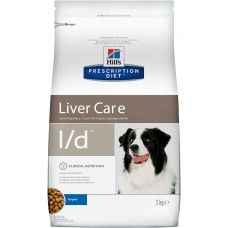 Корм Hills Prescription Diet l/d Liver Care для собак при заболеваниях печени, диетический