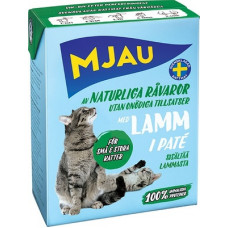 Корм MJAU для кошек, ягненок, паштет, tetra, 380 г