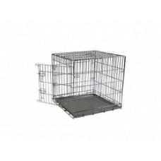 Клетка металлическая с 1 дверкой, 49x33x40 см, Wire cage 1 door