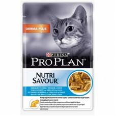 Purina Pro Plan кусочки в соусе для кошек с треской, 85 гр
