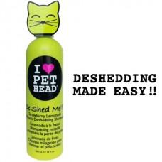 """Клубнично-лимонадный шампунь """"Чудо-линька"""" для линяющих кошек, без сульфатов и парабенов, DE SHED ME for Cats"""