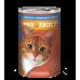 Корм Прохвост для кошек, лосось/форель, в соусе, банка, 415 г