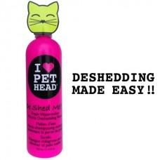 """Арбузный кондиционер """"Чудо-линька"""" для линяющих кошек с кокосовым маслом, без сульфатов и парабенов, DE SHED ME for Cats"""
