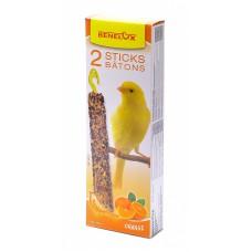 Лакомые палочки для канареек с апельсином, Seedsticks canary Orange x 2 pcs, 110 гр