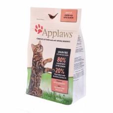 "Корм Applaws беззерновой для кошек ""Курица и Лосось/Овощи: 80/20%"", Dry Cat Chicken & Salmon"