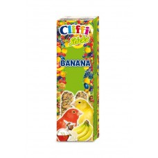 Палочки Cliffi Sticks Canaries Banana and Honey для канареек, банан/мед, 60 г
