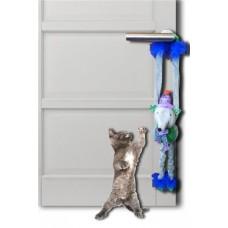 """Игрушка Papillon для кошек """"Плюшевая мышка с колокольчиками"""", 45 см"""