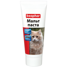 Беафар для кошек Malt-Pastе 25г для вывод шерсти
