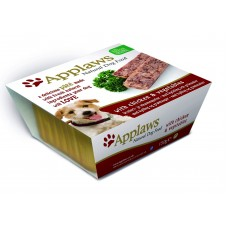 Applaws паштет для собак с курицей и овощами, Dog Pate with Chicken & vegetables, 150 гр