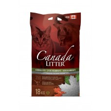 """Canada Litter Канадский комкующийся наполнитель """"Запах на Замке"""", без запаха, 12 кг"""