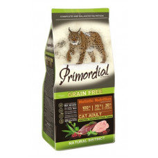 Корм PRIMORDIAL для кошек, беззерновой, утка/индейка