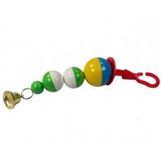 Капитошка 29см игрушка для попугаев 7703