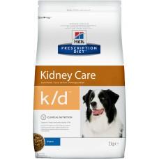 Корм Hills Prescription Diet k/d Kidney Care для собак при профилактике заболеваний почек, диетический